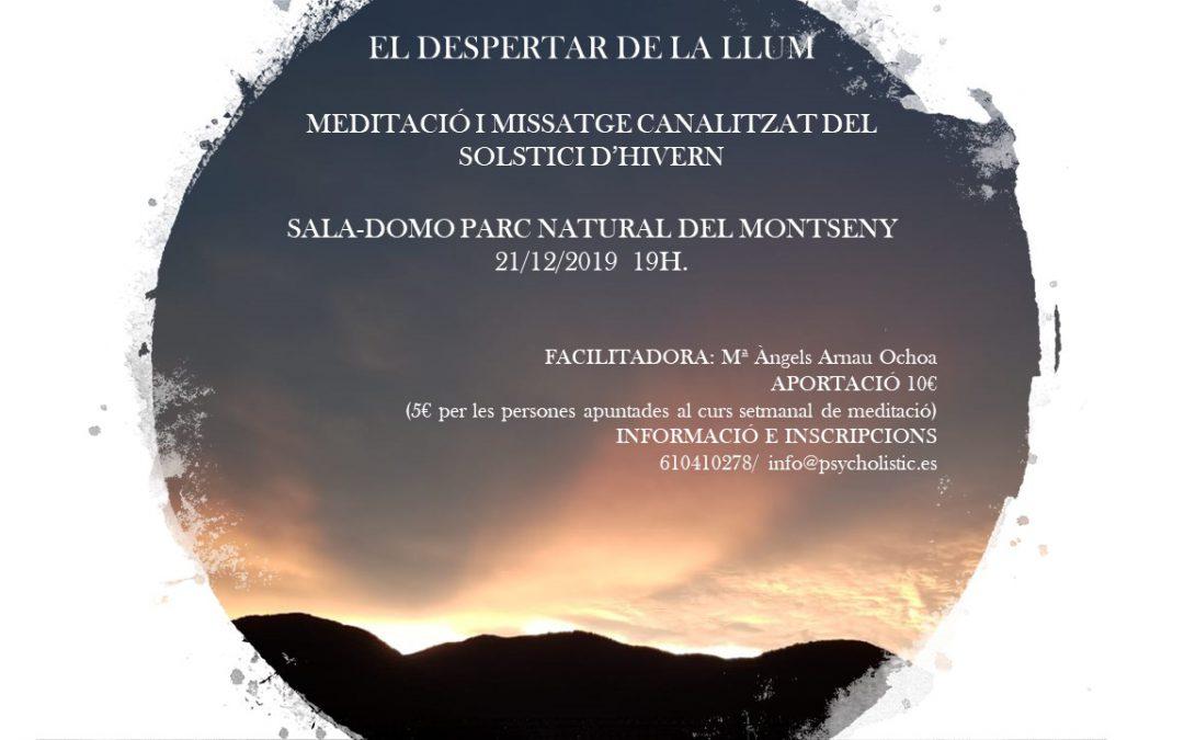 EL DESPERTAR DE LA LUZ- MEDITACIÓN SOLSTICIO DE INVIERNO